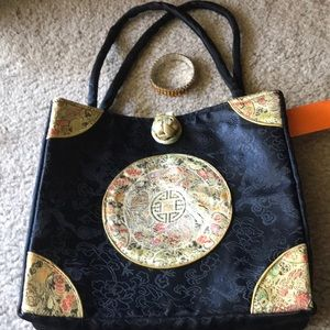 Handbags - 2/$25 Gorgeous Japanese Bag